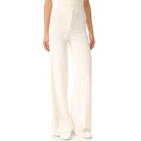 b56210fe94d8c Ivory Theory Terena Admiral Crepe Wide Leg Pants